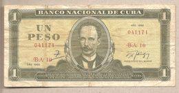 Cuba - Banconota Circolata Da 1 Peso - 1988 - Cuba