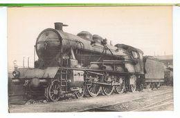 CPA-TRAINS-LES LOCOMOTIVES DU SUD-EST-MACHINE N° 6211-TYPE PACIFIC-A SURCHAUFFEUR SCHMIDT-CONSTRUITE EN 1912- FOHANNO- - Eisenbahnen
