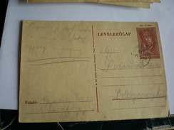 Levelezolap Sajkasgorgye Djurdjevo  To Boldogaszontfalava Budiszava 1942 WW2 - Banat-Bacska