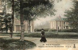 VINCENNES   CPA  Bois De Vincennes   Pavillon Des Gardes Des Minimes.. - Vincennes