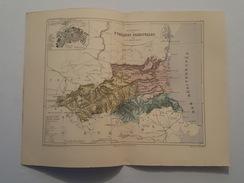 Carte Du XIX ème - Département Des Pyrénées Orientales Par Malte Brun - Gravé Par Erhard - Rouff éditeur - Cartes Géographiques
