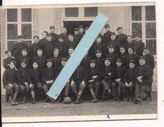 1930/1940 Chasseurs Forestiers Français Képis Et Bérets Football Footballeurs 1 Carte Photo Ww1 14-18 1wk - War, Military