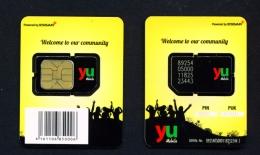 KENYA  -  Mint/Unused SIM  Yu  As Scan - Kenya