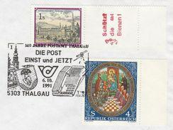1991 Austria TELEPHONE TELECOM  EVENT COVER  Stamps - Telecom