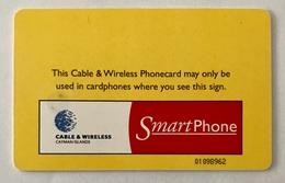 Chip Card $10 Yellow Arrow - Cayman Islands
