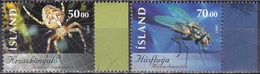 Island Icland 2005 Tiere Fauna Animals Insekten Insects Fliegen Flies Spinnen Spiders, Mi. 1093-4 ** - 1944-... Republik