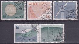 SUECIA 1980 Nº 1078/82 USADO - Sweden