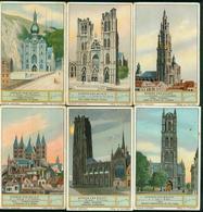 LIEBIG - S_1235 : 'Kerken Van België - Jeux De Société