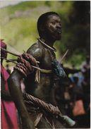 GUINE PORTUGUESA - Costumes, Homem Balanta - Black Man - GUINEA GUINEE BISSAU - Guinea-Bissau