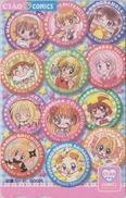 Carte Prépayée Japon - MANGA MANGAS - CIAO - ANIME Japan Prepaid Card - BD COMICS Tosho Karte - 9754 - Comics