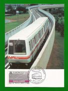 Frankreich  1988  Mi.Nr. 2668 , EUROPA CEPT - Transport-Kommunikationsmittel - Maximum Karte - Strasbourg 30.04.1988 - Europa-CEPT
