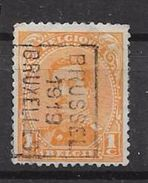 2430B Bruxelles 1921 - Preobliterati