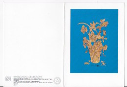 CPSM  Andy Warhol,GOLD POTTED FLOWERS 1957 - Warhol, Andy