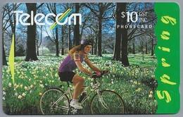 NZ.- Telefoonkaart. TELECOM. New Zealand. Spring. 2 Scans - Nieuw-Zeeland