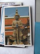 Thailand Bangkok The Emerald Buddha Temple Demon Gate-Guardian - Thailand