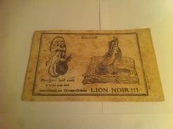 Cirage Lion Noir - Afiches