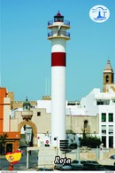 Carte Postale, Phares, World Of Lighthouses, Spain (Western Andalusia), Rota - Fari