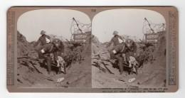 WWI Passchendaele Soldat Blesse Ancienne Photo Stereo Realistic Travels 1914-1918 - Fotos Estereoscópicas