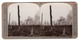 WWI Somme Bois De Mametz Ancienne Photo Stereo Realistic Travels 1916 - Stereoscopic