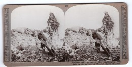 WWI Bataille D'Arras Monchy Ancienne Photo Stereo Realistic Travels 1914-1918 - Stereoscopic