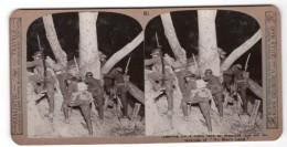 WWI Bataille De Messines Attaque De Nuit Ancienne Photo Stereo Realistic Travels 1917 - Stereoscopic