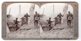 WWI Crete De Pilckem Ridge Ancienne Photo Stereo Realistic Travels 1917 - Stereoscopic