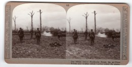WWI Bataille De Poelcappelle Foret De Houthulst Ancienne Photo Stereo Realistic Travels 1917 - Stereoscopic