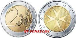 VF MOEDA DE 2 EUROS   MALTA DE 2014 - Malta