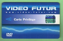 VIDEO FUTUR *** Carte Privilege *** (A2-P4) - Frankrijk