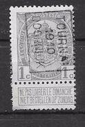 1488B Tournai  1910 - Roller Precancels 1910-19