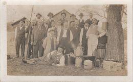 Foto Photo AK United States USA Cowboys Gunmen Farmers Business Men Fathers Day Wild West Washington Seattle ? - Postcards