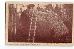 AGB519 THE ROCKING STONE NEAR HALIFAX N.S. - Halifax