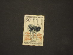 NIGER - 1959/62 FAUNA  50 F. - NUOVO(+) - Niger (1960-...)