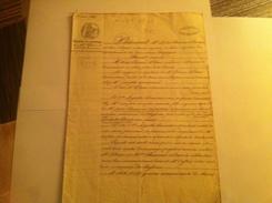 Contrat De Mariage - Manuskripte