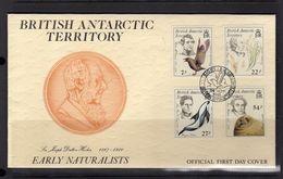 British Antarctic Territory Naturalists 1985 FDC (157) - FDC