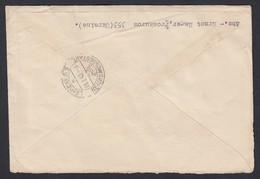 DR Deutsche Dienstpost Ukraine Eckrandstücke 1943 Proskurow Nach Leipzig K83 - Dienstpost