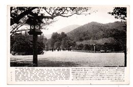 JAPON . THE GARDEN OF THE SHRINE . LE PARC DU GRAN TEMPLE D'AMATERAsU - Réf. N°6386 - - Japon