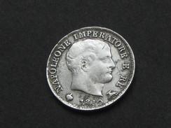 5 Soldi 1810 M - Kingdom Of Napoleon - Regno D'Italia - Napoleone Imperatore E Re  **** EN ACHAT IMMEDIAT **** - Temporary Coins