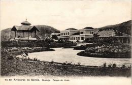 CPA ARREDORES DE SANTOS Guaruja Parque Do Hotel BRAZIL (a4720) - Brasil