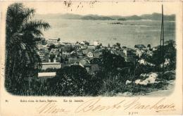 CPA BAHIA VISTA DE Santa Thereza. Rio De Janeiro. BRAZIL (a4742) - Brasil