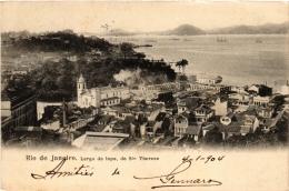 CPA RIO DE JANIERO Largo Da Lapa. De Ste Thereze BRAZIL (a4746) - Brasil