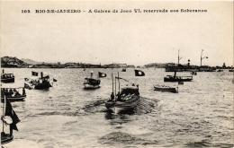 CPA RIO DE JANIERO A Galera De Joao VI Reservada Aos Soberanos BRAZIL (a4749) - Brasil