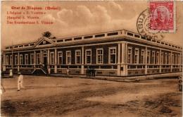 CPA Etat De ALAGOAS L'hopital S. Vincente. Hospital. Krankenhaus BRAZIL (a4753) - Brasil