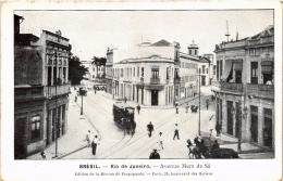 CPA RIO DE JANIERO Avenue Mem De Sa. Edit De La Mission De Propagande BRAZIL (a4756) - Brasil