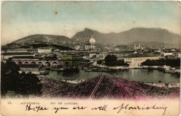 CPA RIO DE JANIERO Alfandega BRAZIL (a4757) - Brasil