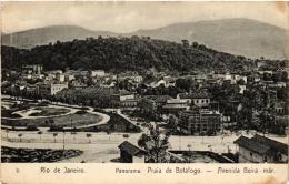 CPA RIO DE JANIERO Panorama Praia De Botaogo. Avenida Beira BRAZIL (a4758) - Brasil