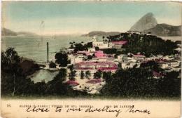 CPA RIO DE JANIERO Gloria E Barra Vistos De Sta Thereza BRAZIL (a4759) - Brasil