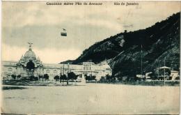 CPA RIO DE JANIERO Caminho Aereo Pao De Assucar BRAZIL (a4770) - Brasil