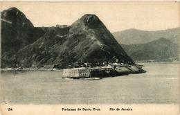 CPA RIO DE JANIERO Fortaleza De Santa Cruz BRAZIL (a4774) - Brasil