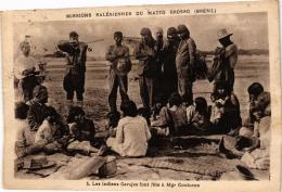 CPA Missions Salesiennes. MATTO-GROSSO 5 Les Insiens Carajas Font Fete A Mgr Couturon BRAZIL (a4781) - Brasil